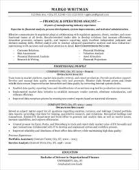 Gallery Of Finance Resume Samples 21 Free Word Pdf Documents