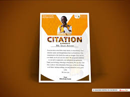 Ananse On Twitter Certificate Citation Design