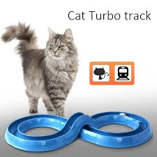 1pcs diy assembly cat funny toy cat turbo track interactive ball kitten tunnel pet supplies cats