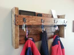 Rustic Hanging Wood Mail Organizer Rustic Mail Organizer. Our Rustic Coat  and Key Rack is a ...