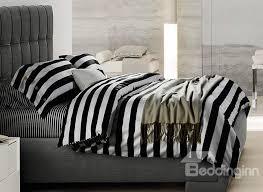 black cotton bedding sets minimalist black and white stripe soft cotton bedding sets on comforter blue