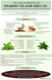 Blood Cholesterol Levels Spearmint Tea Tea Benefits