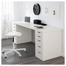 Ikea Office Tables Unique Linnmon Alex Table Black Brown White Ikea