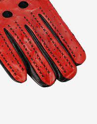 Ferrari Men S Driving Gloves In Lambskin Nappa Leather Man Scuderia Ferrari Official Store