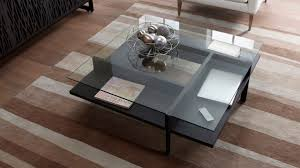 Quality crafted from the fiberboard and wood for strength and beauty for years. Terrace 1150 Modern Square Glass Coffee Table Bdi Furniture