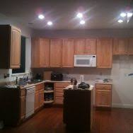 Kitchen Recessed Lighting Led L Shaped Kitchen Layout