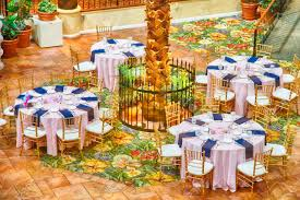 Reception Table Set Up Banquet Tables Set Up For A Reception Or Other Dining Evening