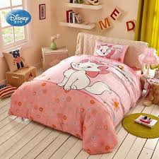 pink marie bedding sets girls bedroom decor 100 cotton bedsheet duvet cover set 3 twin full size queen comforter sets nursery bedding from wenglianbo