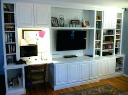 wall unit ideas for desk and tv storage units a i would like a built in on