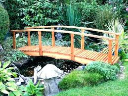 wooden garden bridge decorative plans x ornamental wood bridges uk