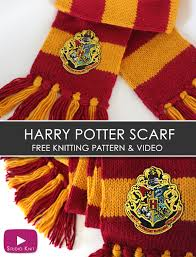 Harry Potter Scarf Knitting Pattern Magnificent Design Inspiration