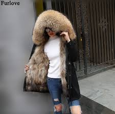 to enlarge home products winter jacket women real fur coat previous product