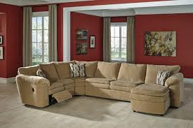 ashley furniture brookfield lovely reclining sectional with chaise classic sofas ashley furniture
