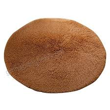 mintbon large round area rug pad playing khaki gy floor mat shower toilet bath area floor