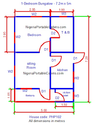 floor plan of a house with dimensions. Free Bungalow Plans For Everyone Floor Plan Of A House With Dimensions