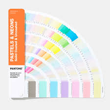 Pantone Coated Color Chart Pdf Pastels Neons Guide Coated Uncoated