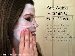 anti aging diy vitamin c face mask