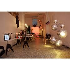 mirror ball stand chandelier gold chrome tom dixon précédent suivant