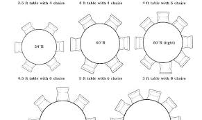 round table dimensions round table size for 6 8 person round dining table dimensions did someone