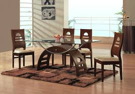 glass and wood dining table. Wooden Dining Table And Chairs Endearing Glass Wood Tables Modern . A