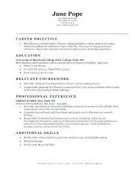 Resume Objective Tips Resume Objectives Resume Objective Examples Adorable Resume Objective Tips