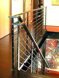 rustic stair railing ideas staircase