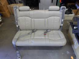 00 06 chevy suburban gmc yukon tahoe rear seat 3rd row bench tan