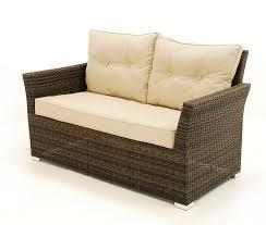 sienna 4 pc seat sofa rattan garden furniture set