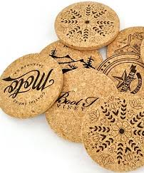 Custom cork coasters Monogram Custom Printed Cork Coasters Corkstorecom Custom Printed Cork Coasters Jelinek Cork