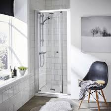 Bi-Fold Shower Doors | Folding Shower Door | Victorian Plumbing