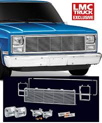 SE Front End Dress Up Kit with Rectangular Single Headlights ...