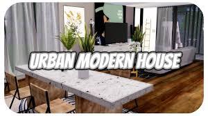 urban house furniture. The Sims 4   Apartment Build: New York Urban Modern House W/CC LINKS!! Furniture E