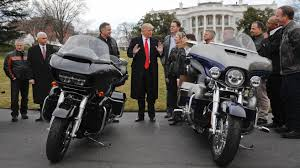 the country trump mentioned with a 100 tariff on harley davidson