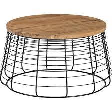 cb2 mill coffee table enchanting round metal coffee tables with coffee table for the home cb2