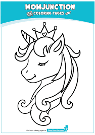 With over 4000 coloring pages including unicorn coloring page. Beautiful Unicorn Head Coloring Page Unicorn Coloring Pages Coloring Pages Disney Coloring Pages