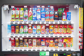 Top Selling Vending Machine Drinks