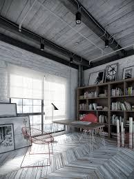 Decorations:Contemporary Industrial Loft Design Idea Contemporary  Industrial Loft Design Idea
