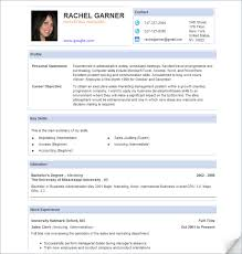 Take Guidance From A Free Sample Resume And Create An Effective Gorgeous Effective Resume