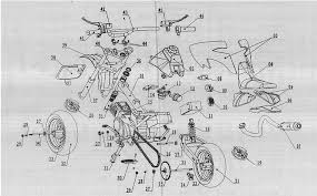 tech diagrams 500 and 700 watt electric scooter schematic diagram