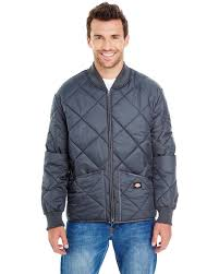 Dickies 61242 Quilted Jacket Men's 6 Oz Diamond Quilt Choose Color ... & ... Picture 2 of 4 ... Adamdwight.com