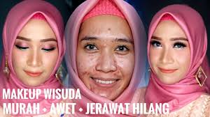 cara makeup wisuda murah awet untuk kulit berminyak berjerawat flawless look