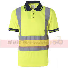 Hi Vis T Shirt Design Hi Viz Collared Polo Shirt New Design In Yellow