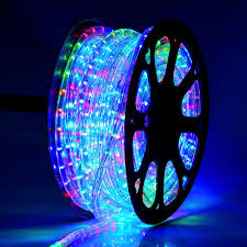 2 Wire Led Lights Details About Delight 150 Rgb 2 Wire Led Rope Light Home Party Xmas In Outdoor Decoration