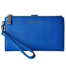 list of michael kors smartphone wallet michael michael kors 32t7safw4l adele leather smartphone wristlet grecian