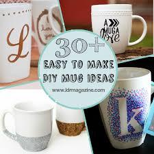 30+ Easy to Make DIY Mug Ideas