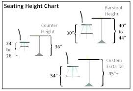 bar stool height for 36 inch counter chair height for inch counter best of best counter
