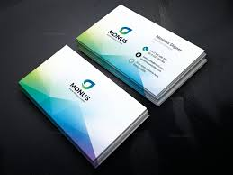 Card Design Template Aurora Modern Business Card Design Template 001593