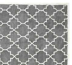 black white and yellow rug black white yellow gray rug tufted pottery barn o