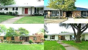 white painted brick exterior before and after tucker paint colors decorative finishes