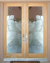 glass double doors double entry doors glass front doors exterior glass doors banana leaves tropical entry